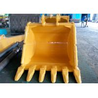 Quality Wheeled Extension Excavator Grapple Bucket With 6 Teeth And Side Protective for sale