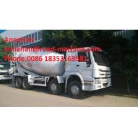 China Sinotruk Howo 6x4 Concrete Mixer Truck / Concrete Mixing Equipment 6cbm 70 Cabin With Air Condition wholesale