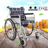 China Easy Operation Lightweight Manual Wheelchair For Disabled People OEM Available wholesale