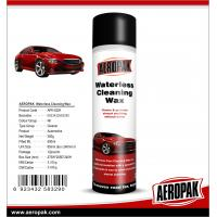 China AEROPAK 500ML aerosol spray can Waterless Cleaning Wax for car cleaning wholesale
