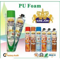 China Manual PU Foam Sealant , Home Spray Foam Insulation For Bonding / Soundproofing wholesale