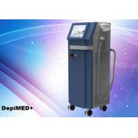China Painless Diode Hair Removal Laser Beauty Equipment 100J/cm Energy Density wholesale