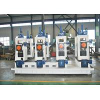 Buy cheap Square pipe roll forming machine used Automatic steel ERW pipe mill line machine from wholesalers