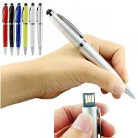 China 3 In 1 64GB USB Flash Drive / USB 2.0 Pen Drive With Ball Point Pen 14.5cm wholesale