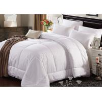 China Hotel Bedding Duvet 100% Cotton King Size White Color With 500GSM wholesale