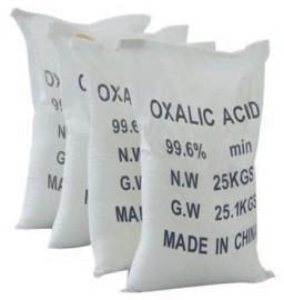Quality Anhydrous Oxalic Acid Dye Intermediates 99.6% Min , Cas 144-62-7 for sale