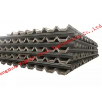 China ISO9001 S430 Piling Steel , Hot Rolled S275 U Type Sheet Pile wholesale