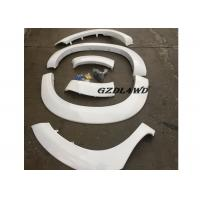 China White Painted Hilux Vigo Fender Flares 4WD Accessories / Vigo Wheel Arch Trim wholesale