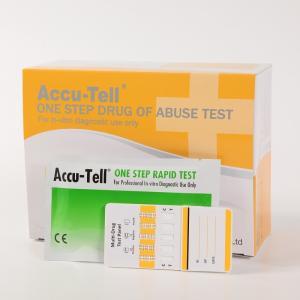 China Accu-Tell®Multi-Drug Rapid Test Panel (Urine) wholesale