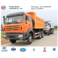 China WEICHAI engine 340hp & 380hp North Benz Dump truck for sale, competitive price North Benz 6*4 LHD dump tipper truck on sale