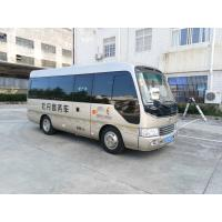 China Isuzu Coaster Type Aluminum Tourist / Luggage City Transportation Bus Minivan wholesale