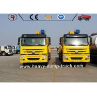 Buy cheap HOWO 8X4 Truck Mounted Straight Boom Service Truck Crane 25 Tons Loading from wholesalers