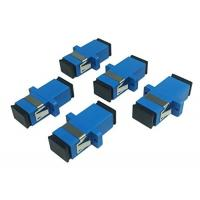 Buy cheap Blue Color Fiber Optic Connector Adapters High Measurement Repeatability With from wholesalers