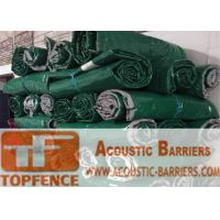 China Temporary Sound Acoustic Barrier Mat Temporary Fencing Hire Sound Vinyl Barrier for Metal Cut Saw in Construction Sites wholesale