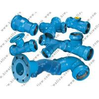 Quality Ductile iron fittings for PVC Pipes for sale