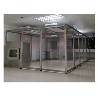 China SUS 304 Frame Transparent Class 10000  Softwall Clean Room wholesale