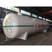 China 30MT 60000liters LPG Gas Storage Tank 14mm Tank Body DN2700mm Diameter on sale