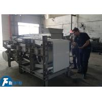 China Efficient Filter Press Unit For Leather / Printing / Metallurgy Industry on sale