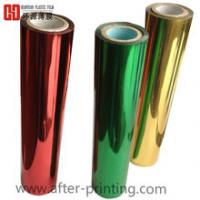 China Shrink Pencil Colorful Plastic Wrapping Foils , 120M Length Holographic Stamping Foil wholesale