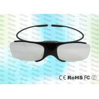 China Light weighted 3D TV IR Active Shutter Glasses GH1000 with low power detection wholesale