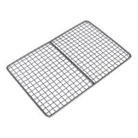 China Safety Titanium Barbecue Grill Wire Mesh , Healthy Bbq Charcoal Tray on sale