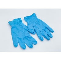 Buy cheap Disposable Nitrile Chemical Resistant Gloves Latex For Protecting Skins from wholesalers