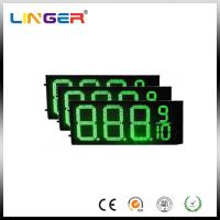 China IP54 Rear Waterproof RF Controller LED Gas Station Price Signs 12 Inch wholesale