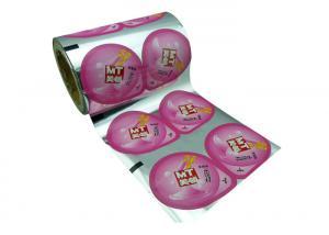 China 50μM Gravure Printing Plastic Cup Sealing Film For Milk Tea wholesale
