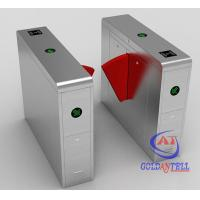 China 50w Indoor Outdoor Turnstile Web Based IP Biometric Acess Automated Security Gates on sale