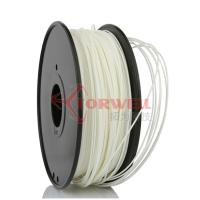 China Polystyrene White Makerbot Filament 3D Printing , 1.75mm HIPS Filament wholesale