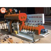 China 800KG/H 55KW Fish Feed Making Machine , Steel Low Noise Fish Pellet Extruder wholesale