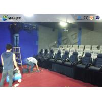 Buy cheap Multi Person Interactive 7D Movie Theater With Unique Interactive Shooting System from wholesalers
