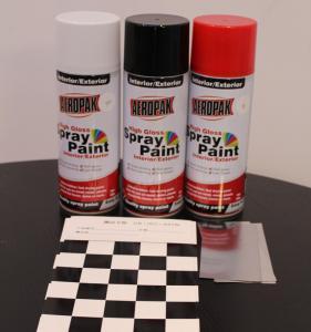 China Aeropak Automotive Aerosol Spray Paint , Fast Dry Acrylic Spray Paint For Wood wholesale