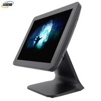 China Metal Stand Plastic case Black color 15  inch pos touch screen pos systems on sale