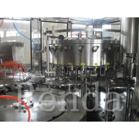 China Stainless Steel Small Carbonated Drink Filling Machine 380V ISO Certification wholesale