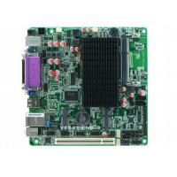 China Atom N2800 CPU Fanless Embedded Mini ITX motherboard 6 COM ,8 USB2.0 industrial mainboard wholesale