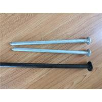 Quality Hot Dipped Galvanized Earth Ground Anchor , Steel Tent Stakes Tent Spike 19mm for sale