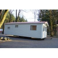 Quality Moistureproof Prefab Mobile Homes / Yellow Mobile Manufactured Homes for sale