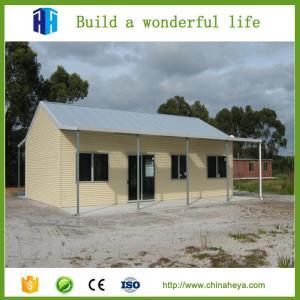 China prefabricated steel frame energy efficient design 1 floor house plans wholesale