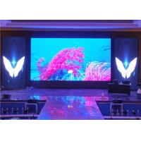 China High Contrast SMD2121 Stage Background Led Screen , Indoor LED Displays Billboard wholesale