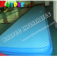 China Inflatable gymnastic mat , air track ,DWF air track, inflatable sport game on sale