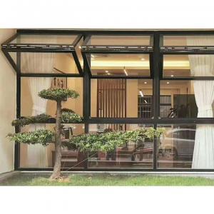China Dual Panel Bi-folded Horizontal Lifting Folding Toughened Glass Door Walls Systems Partition wholesale