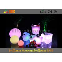 China Outdoor Electric Champagne Cooler 16 Colors Changing With Remote Control wholesale