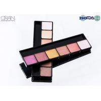 China OEM ODM cosmetics 6 color eye shadow, professional makeup eyeshadow palette wholesale