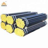China Carbon Steel Dth Drill Rods Water Well Drilling Rod Drill Pipe With Thread Connector on sale