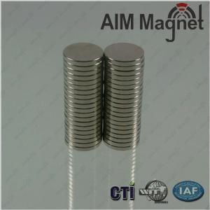 China 10mm Dimeter Neodymium Magnets wholesale
