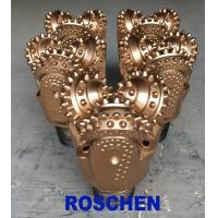"""China 8 1/2"""" Tricone Rock Roller Bits , TCI Tricone Drilling Bit Oil Well Application wholesale"""