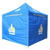 Quality Folding Waterproof Trade Show Tents 3 * 3m / 10 * 10 Feet Size Steel Pole for sale
