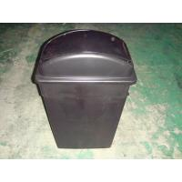 China 90 Liter Plastic Waste Bins Flip Top Dustins wholesale