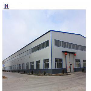 China auto steel structure prefab workshop layout design on sale